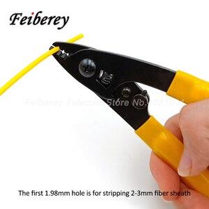 Image 4 - 3 in 1 FTTH Fiber Optic Stripper Tool Kit CFS 2 CFS 3 Optische Faser Abisolieren Zange Innen Drop Kabel Mantel Peeling zange