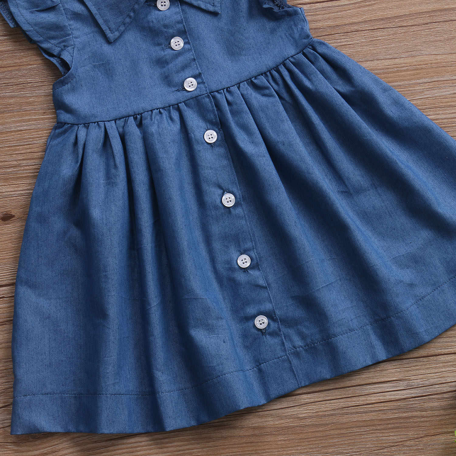 be63f1711 Detail Feedback Questions about baby girl denim dress Toddler Baby ...