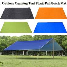 4 Size Awning Sun Shelter Beach Outdoor Camping Garden Sun Awning Canopy Sunshade Hammock Rain Fly Tarp Waterproof Tent Shade(China)