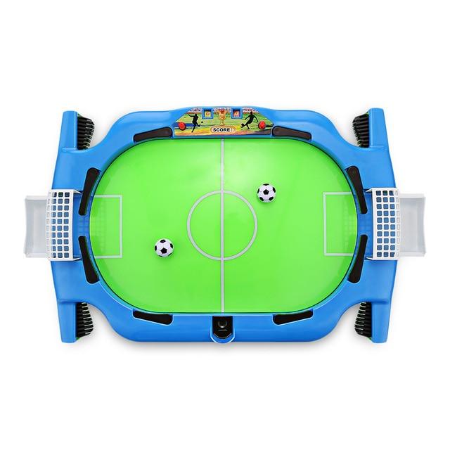 Novel Mini Tabletop Table Soccer Toy Shooting Defending Board Game Football Sport Match Kids Preschool Play Ball Toys 1