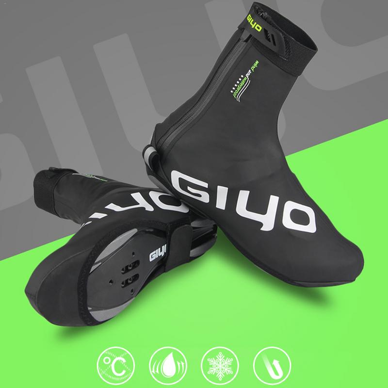 Winter Cycling Shoe Covers Outdoor Anti dust MTB Road Mountain road Bicycle Bike Racing  Overshoes Waterproof Shoe Cover|  - title=