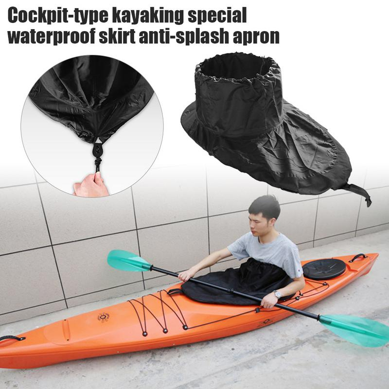 Kayaking Special Waterproof Skirt Cockpit Style Splash Proof Apron Kayaking Accessories Surfing Supplies Single Waterproof Skirt