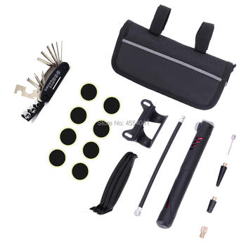 Mountainous Bicycle Multi-function Tool Combination Tool Repair Tool Tire Repair Tool Set