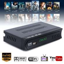 EU Plug 1080P DVB-S2 Telvision Box HD Digital Satellite IPTV Combo TV Receiver Support USB WIFI Mayitr цена и фото