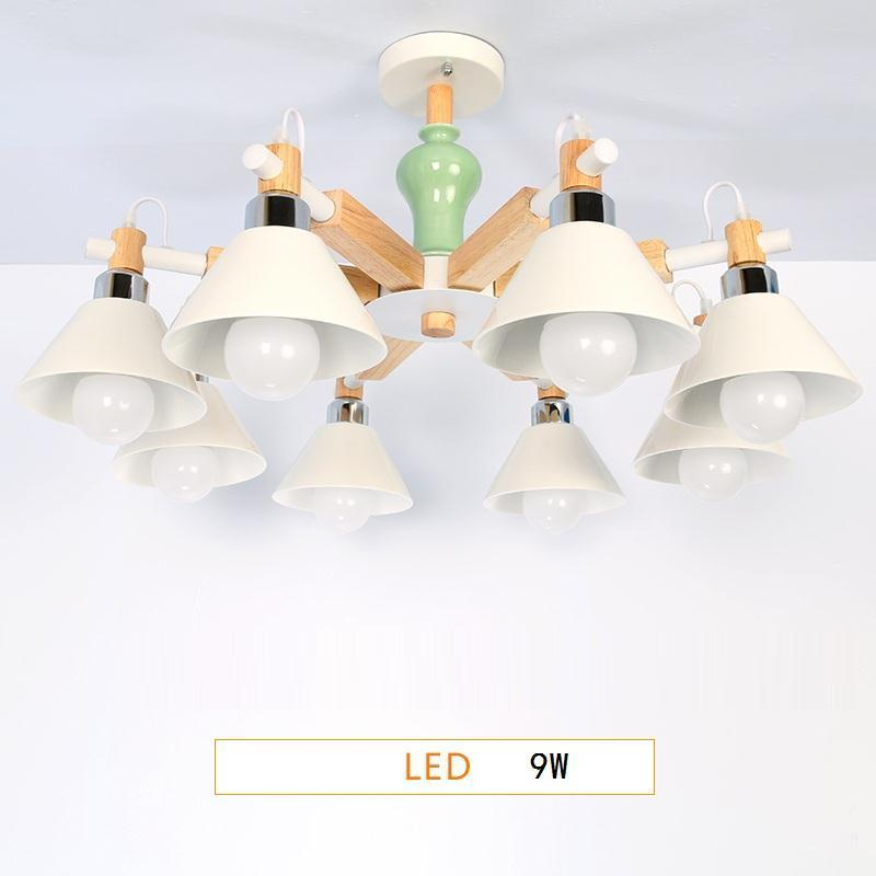 Lampadario Cameretta Bambini Touw Nordic Light Lampara De Techo Colgante Moderna Lampen Modern Deco Maison Hanging Lamp in Pendant Lights from Lights Lighting