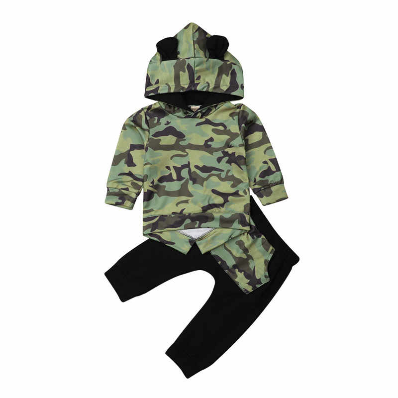 9c15ce82e957 Detail Feedback Questions about Fashion Baby Boys Camo Hoodies ...