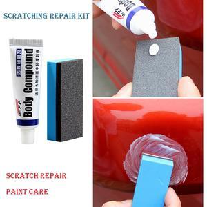 Image 2 - 15g Car Body Compound Paste Set Scratch Paint Care Auto Polishing Grinding Compound Sponge Repair Kit Paint Maintenance Care