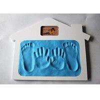 Wyatt of Source Photos House Photo Frame Baby shou yin ni Set Children Hand Footprints Gift Production Wholesale