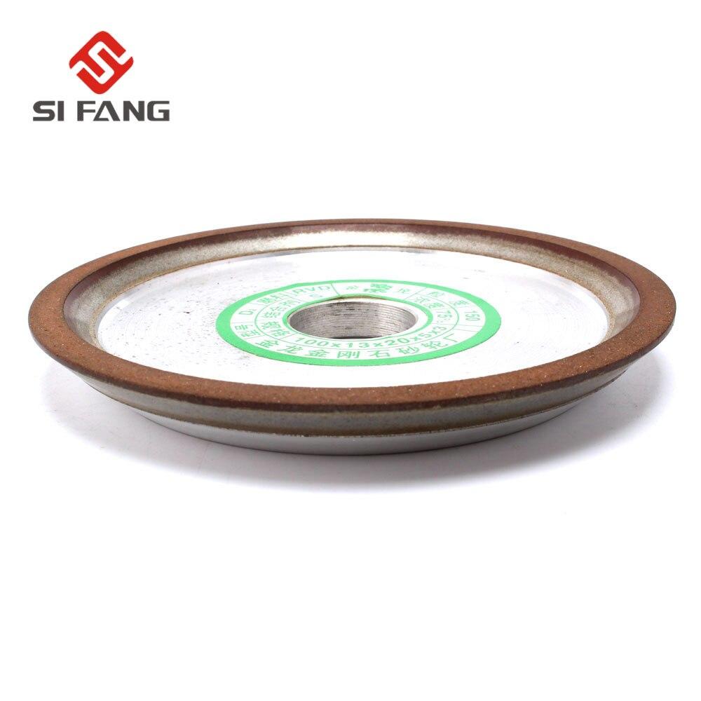 Resin Diamond Grinding Wheel 4/'/'-6/'/' Carbide Cutter Grinder Disc 150//240//320Grit