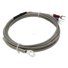 Ftarr01 k e tipo 2m metal triagem cabo 5mm 6mm 8mm 14mm diâmetro buraco anel cabeça termopar sensor de temperatura