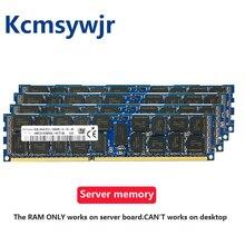Serveur RAM DDR3 4GB 8GB 16GB 32GB 4G 8G 16G DDR3 2RX4 PC3 10600R 12800R 14900R ECC REG 1600Mhz 1866Mhz 1333Mhz mémoire RAM 1600