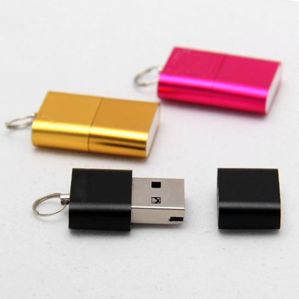 Portable High Speed Mini USB 2.0 Micro SD TF T-Flash Memory Card Reader Adapter Flash Drive SD Flash Memory Wholesale