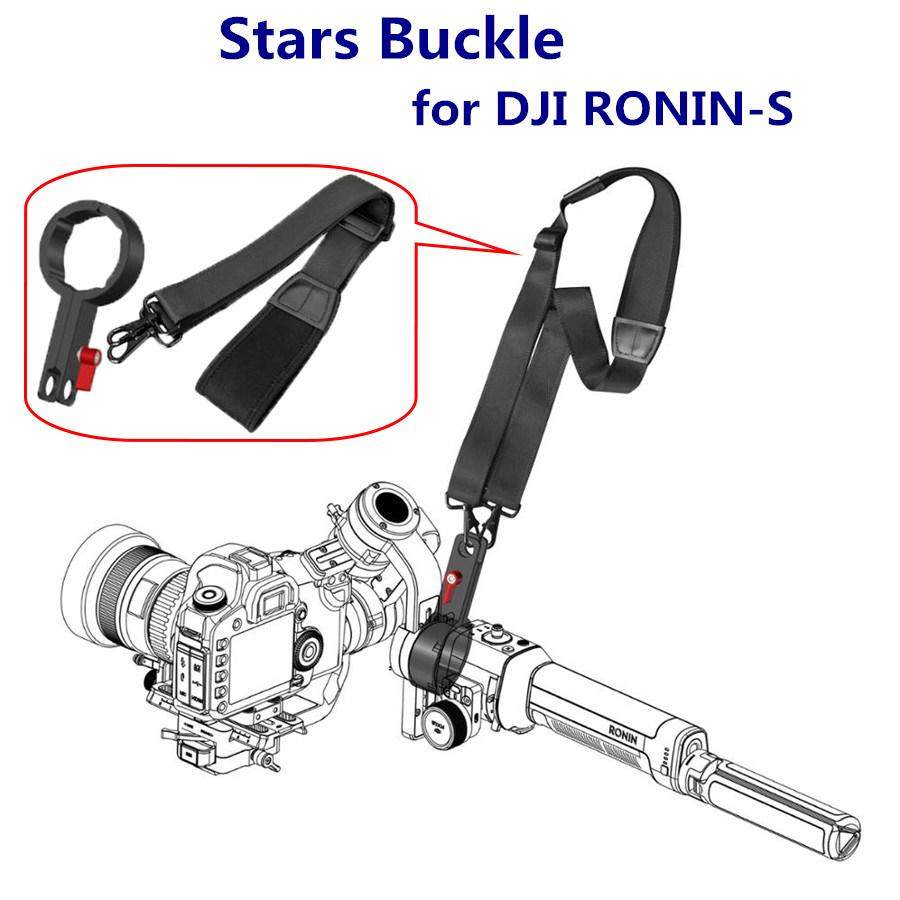 RONIN S Accessories Hang Rope Buckle Lanyard Strap Belt Sling Clasp For DJI RONIN-S Gimbal Camera Stabilizer Protector