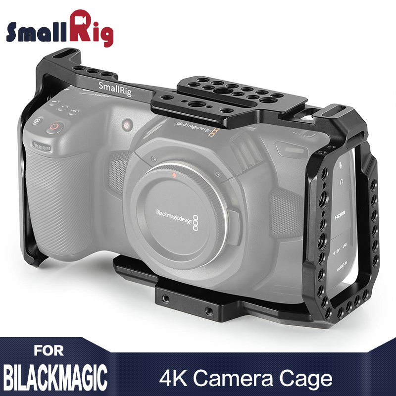 SmallRig bmpcc Gaiola Câmera DSLR Blackmagic Bolso 4 k para Blackmagic Pocket Cinema Camera BMPCC 4 4 k k 2203