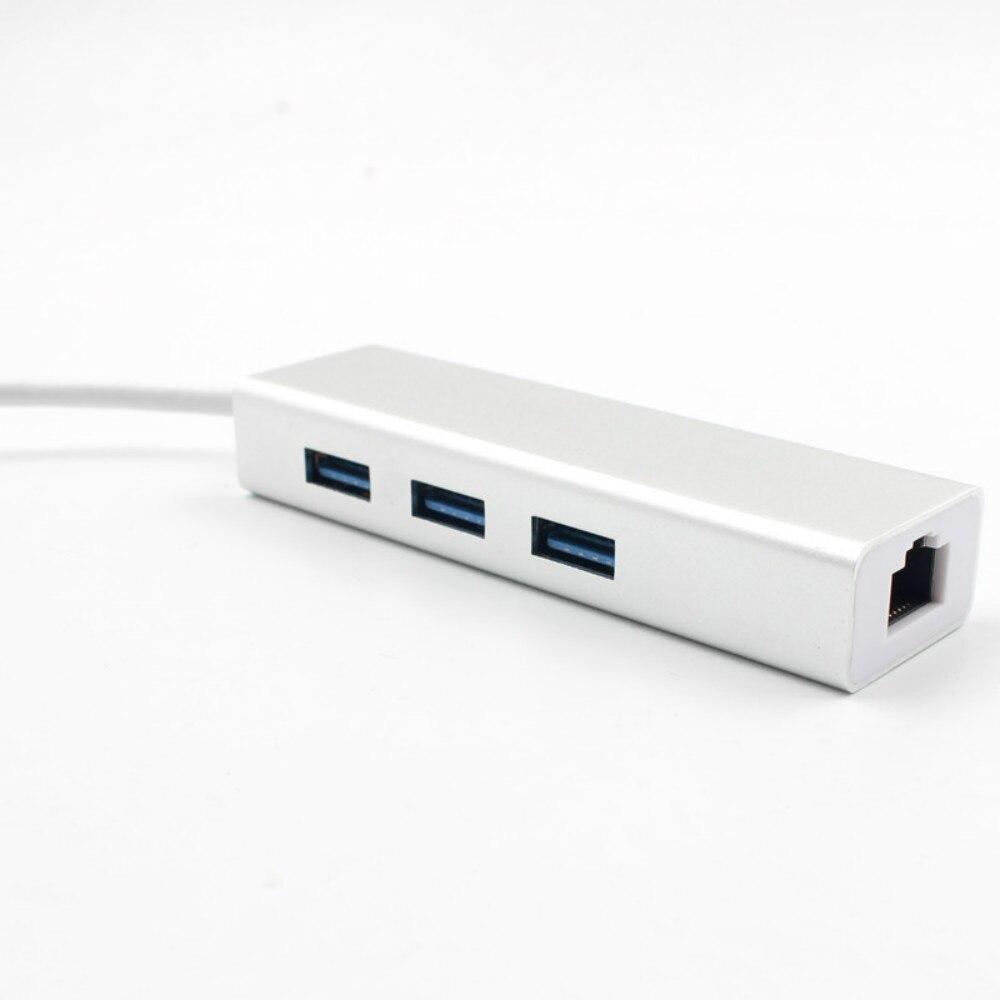 Image 4 - USB HUB C HUB to Multi USB 3.0 HDMI Adapter Dock for MacBook Pro Accessories USB C Type C 3.1 Splitter 3 Port USB C HUB-in USB Hubs from Computer & Office
