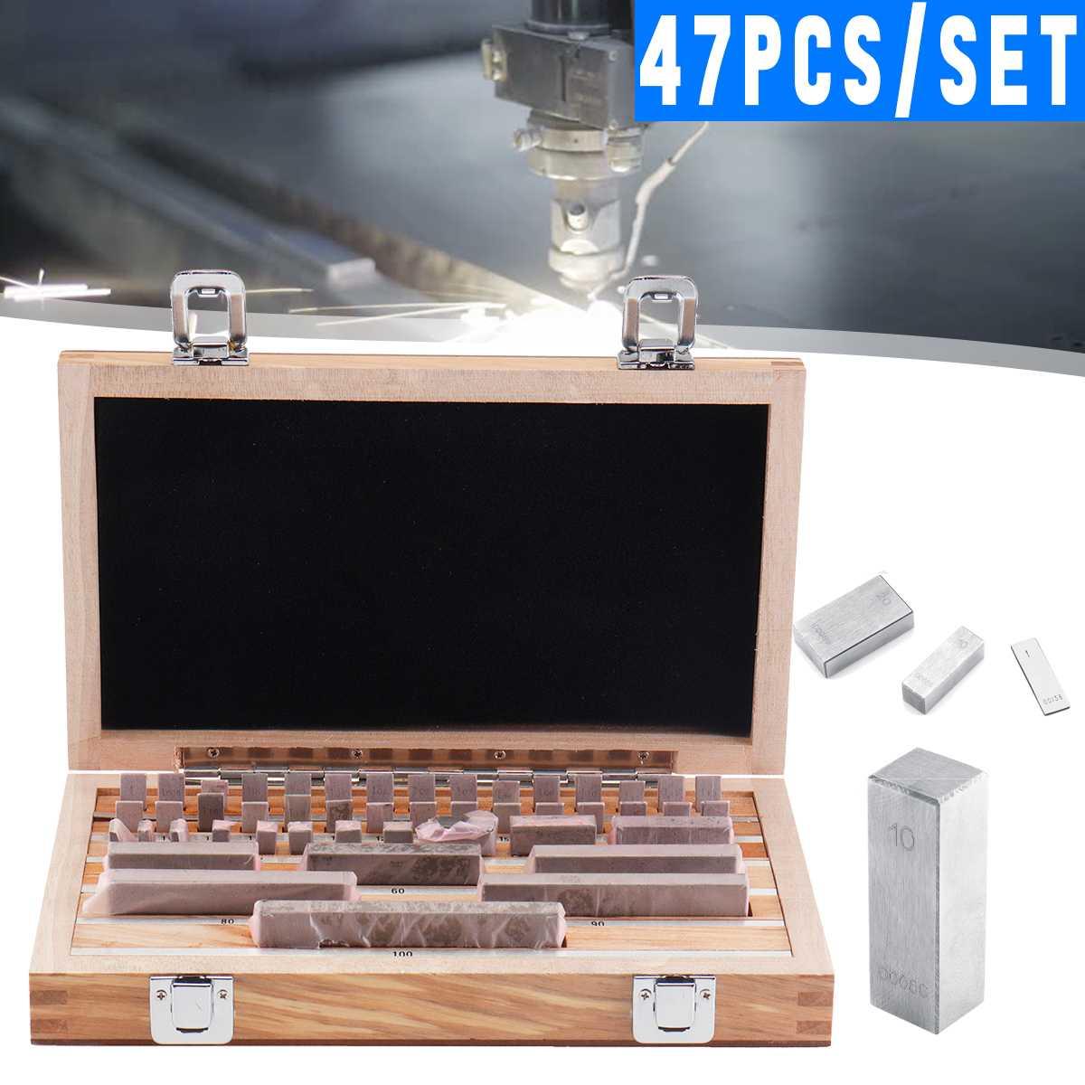 800HV твердость 47 шт./компл. сталь метрическая измерительный блок класс 1 скольжения Jo блоки 1 100 мм измерительные инструменты изготовлены пара
