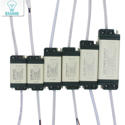 1-36W Safe Plastic Shell LED Driver Input AC90-265V Light Transformer Constant Current 300mA Power Supply Adapter for Led Lamps