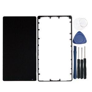 """Image 5 - Оригинальный 6,4 """"M & Sen для Xiaomi Mi Mix /Mi Mix Pro 18k версия керамическая средняя рамка ЖК экран дисплей + сенсорная панель дигитайзер Рамка"""