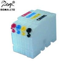 BOMA.LTD – cartouche d'encre vide pour imprimante, rechargeable, pour Ricoh GC41, SG400, SG800, SG400NA, SG400EU, SG800NA, SG800EU