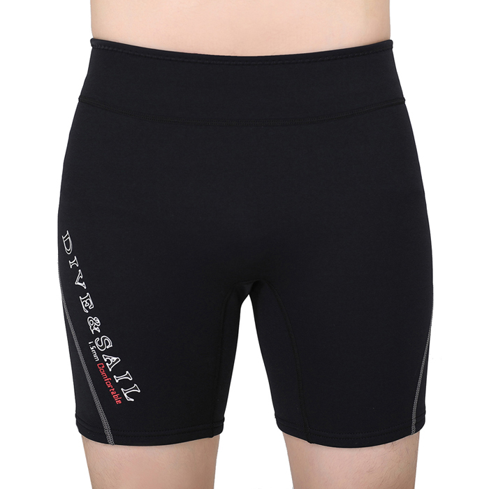 Dive&Sail 1.5Mm Neoprene Diving Shorts Wetsuit Short Pants Winter Swimming Rowing Sailing Surfing Warm