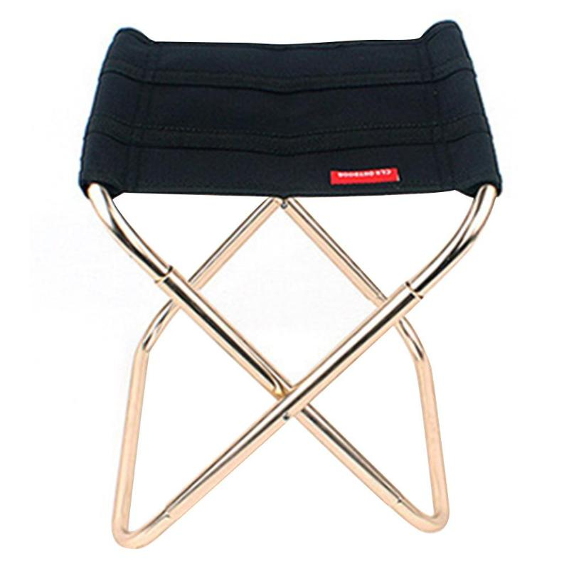 Portable Lightweight Folding Stool Outdoor Camping Fishing Barbecue Travel Chair
