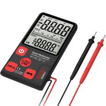 BSIDE ADMS7 Portable Digital Multimeter Large 3.5 LCD 3-Line Display Voltmeter With Voltage NCV Resistance Ohm Hz Tester