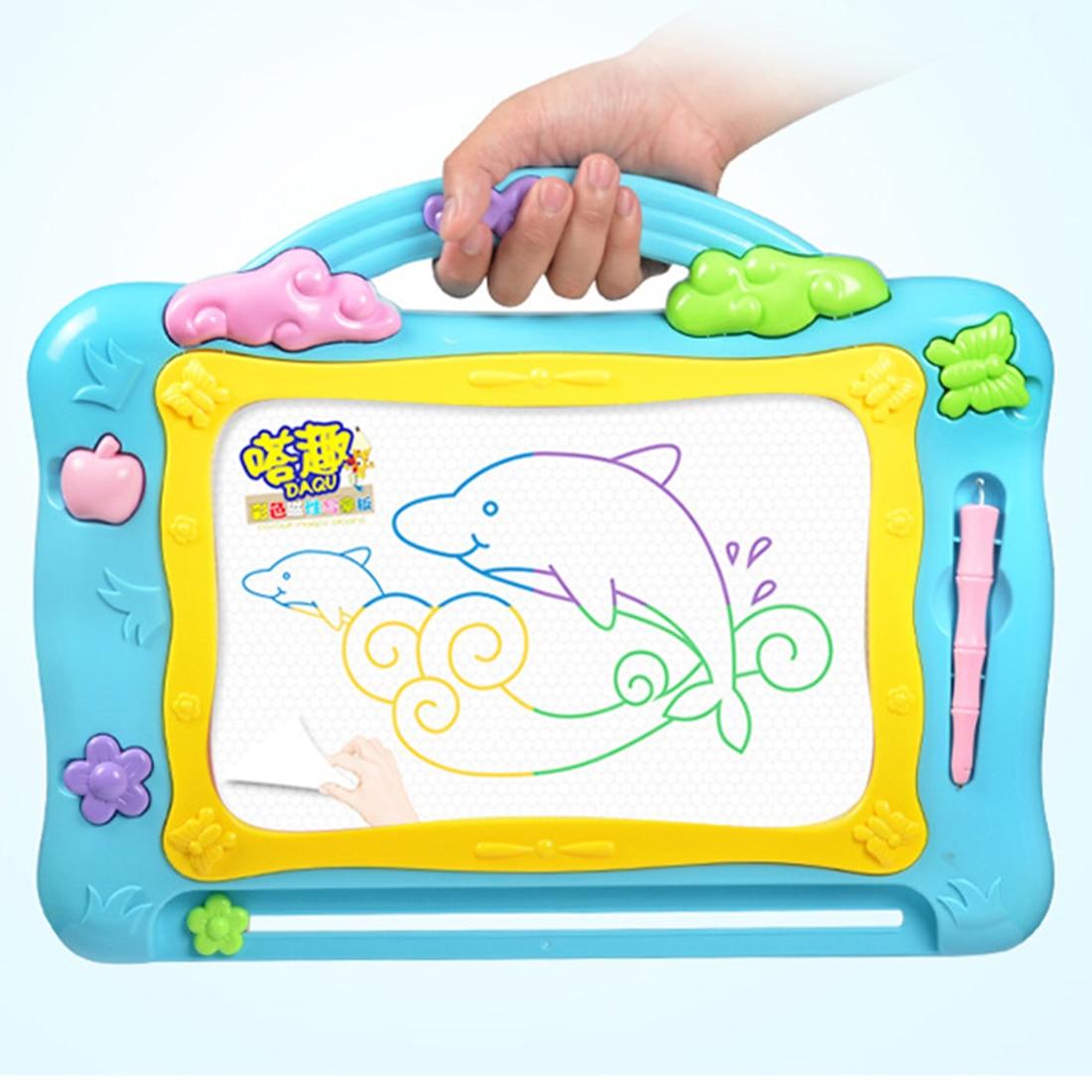 מדהים מגנטי ציור צעצועי למידה הארה גרפיקה Tablet לילדים חינוכיים ציור SG-84
