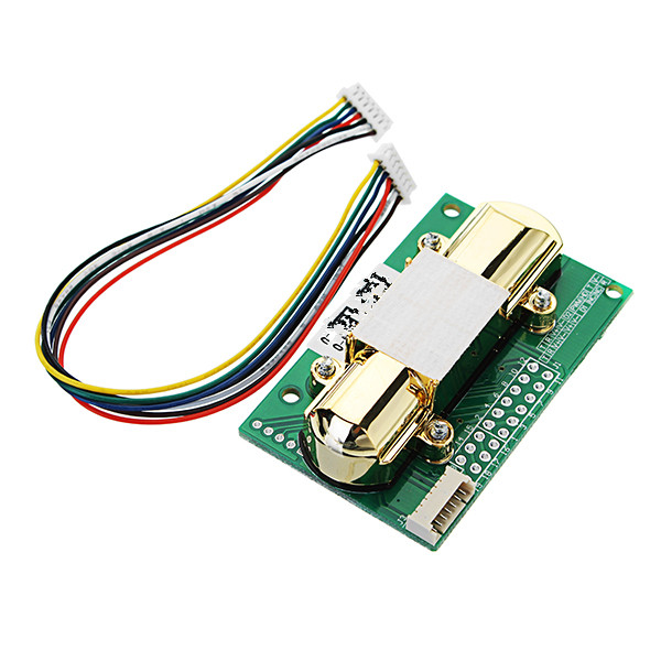 New Single Channel Sensor Infrared Carbon Dioxide Sensor Module Analog Output With Cable Environment 5000PPM Serial PortNew Single Channel Sensor Infrared Carbon Dioxide Sensor Module Analog Output With Cable Environment 5000PPM Serial Port