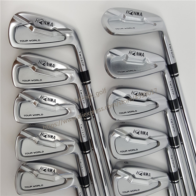 Image 2 - touredge Golf Clubs 737p golf iron HONMA Tour World TW737p iron group 4 10 w (9 PCS)  No 3#  silver Cover-in Golf Clubs from Sports & Entertainment