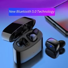 лучшая цена New Mini Bluetooth V5.0 Earphones With Mic Wireless Sports Earbuds Noise Cancelling Headset And Charging Box For All Phone