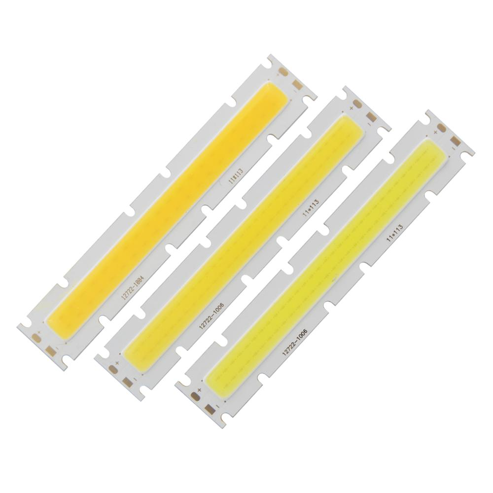 Купить с кэшбэком 30W LED COB Strip 127mm 22mm High Power Light Source chip on board DIY bulb Module 30-33V 900mA DC lamp for Outdoor Downlight