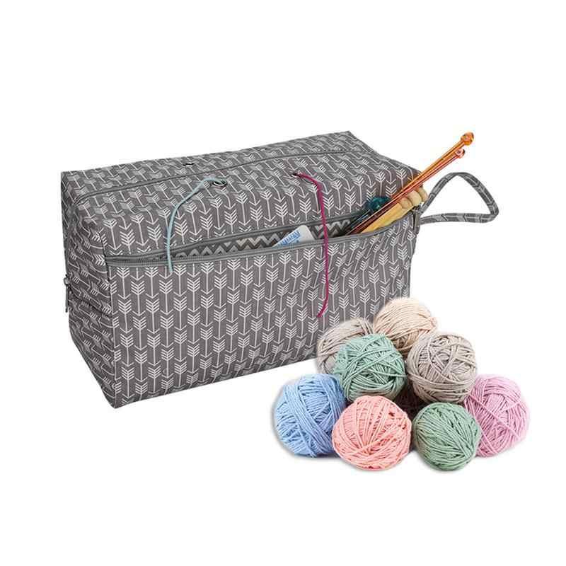 Detail Feedback Questions About Yarn Storage Bag Organizer With