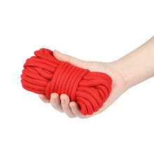 5/10M Cotton Sex BDSM Bondage Ropes Flirting Tied Rope SM Slave Bondage Fixed Body Rope Adult Games Sex Toys For Woman Couples