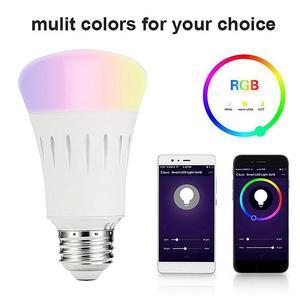 E27/E26/E14/B22 7W RGB+W Lamp