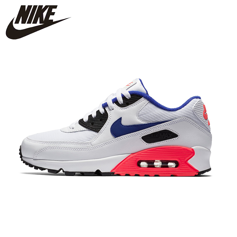 NIKE AIR MAX 90 ESSENTIAL Mens Running Shoes Mesh Breathable