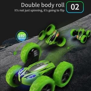 Image 3 - YD JIA RC רכב 2.4G 4CH פעלולים באגי רכב Rock Crawler רול רכב 360 תואר Flip ילדים רובוט RC מכוניות צעצועי מתנות