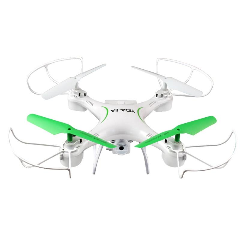 Drone hélicoptère YD JIA avec caméra Hd 2.4G maintien d'altitude caméra HD quadrirotor Drone RC Wifi FPV vol stationnaire hélicoptère