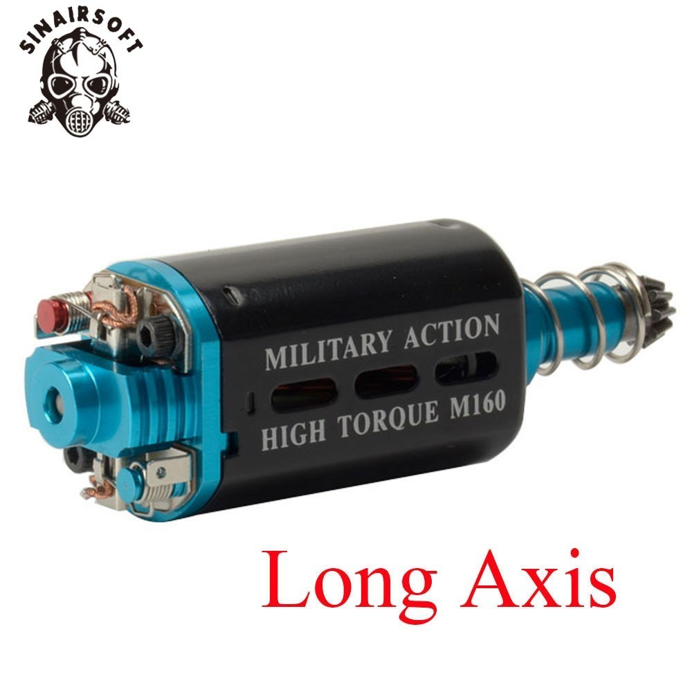 SINAIRSOFT M160 High Twist Type High Torque AEG Motor Long/Short Axis For Airsoft AK M16/M4/MP5/G3/P90 AEG Airsoft Accessories