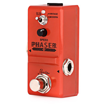 Rowin Ln - 313 Guitar Effect Pedal Analog Phaser Guitar Effect Pedal True By Pass For Musical Instruments rowin analog dumbler guitar effect pedal