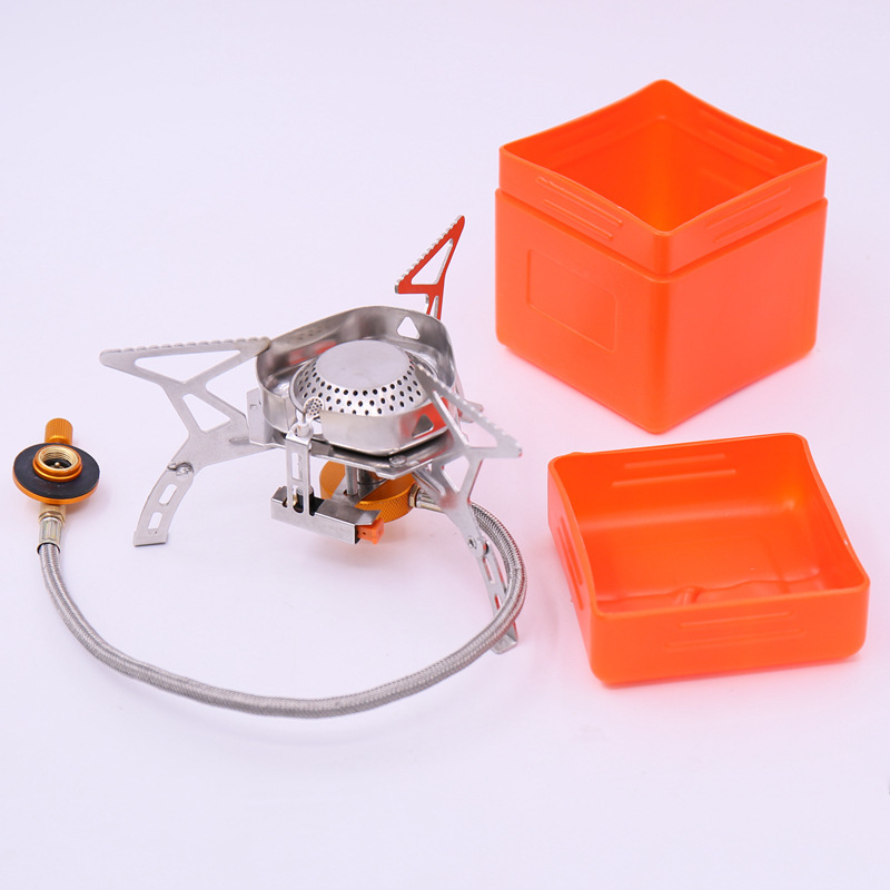 3500w Portable Furnace Head Part Style Outdoors Stove Camping Gas Stove For Outdoor Mountaineering Party Hiking Camping & Hiking