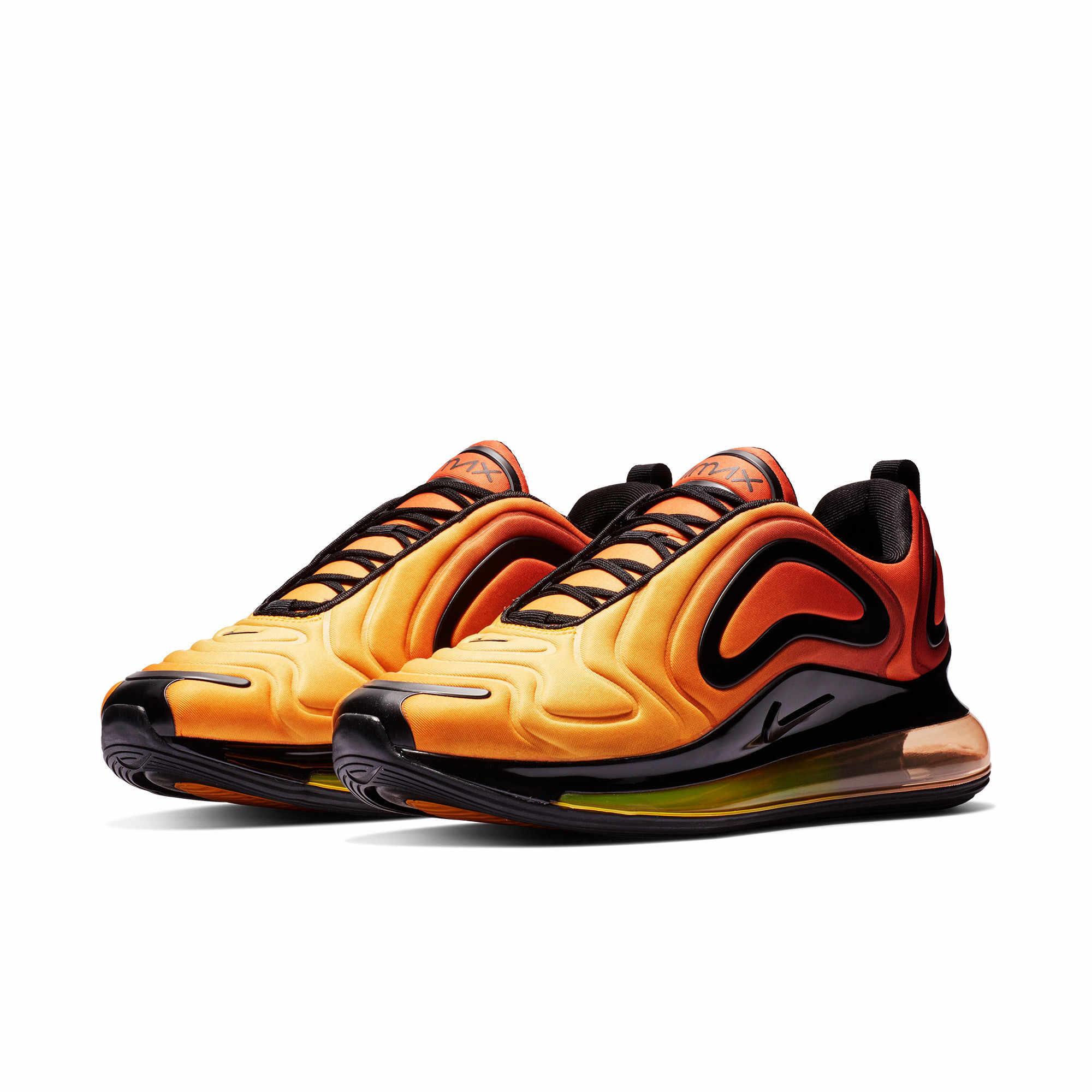 Nike Air Max 720 оригинальный Для мужчин кроссовки удобные кроссовки на воздушной подушке Новое поступление дышащие, для активного отдыха и спорта спортивная обувь # AO2924-800