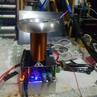 16MM Mini Music Tesla Coil Tesla coil miniSSTC Driver board DC 12V