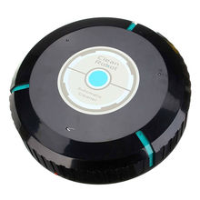 New Hot Cleaner Robot Cleaning Home Automatic Mop Dust Cleans Sweeping black