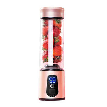 Portable Electric Juicer Blender Usb Mini Fruit Mixers Juicers Fruit Extractors Food Milkshake Multifunction Juice Maker Machine - DISCOUNT ITEM  24% OFF บ้านและสวน