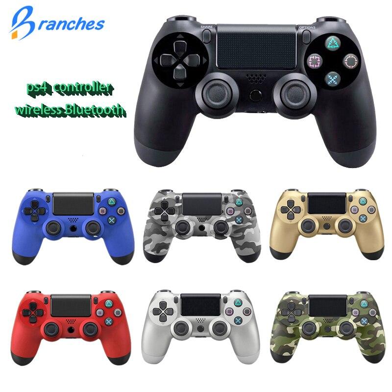 8 Console Bluetooth Sans Fil Joystick pour PS4 Contrôleur Fit Pour PlayStation Pour Playstation Dualshock 4 Gamepad Pour PS3 Console