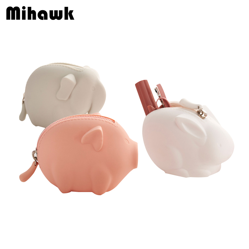 Coin Purses & Holders Sunny Mihawk Cartoon Coin Purses Women Mini Vanity Make Up Bag Wallets Holders Money Pouch Children Makeup Case Storage Zip Tote Stuff Be Friendly In Use