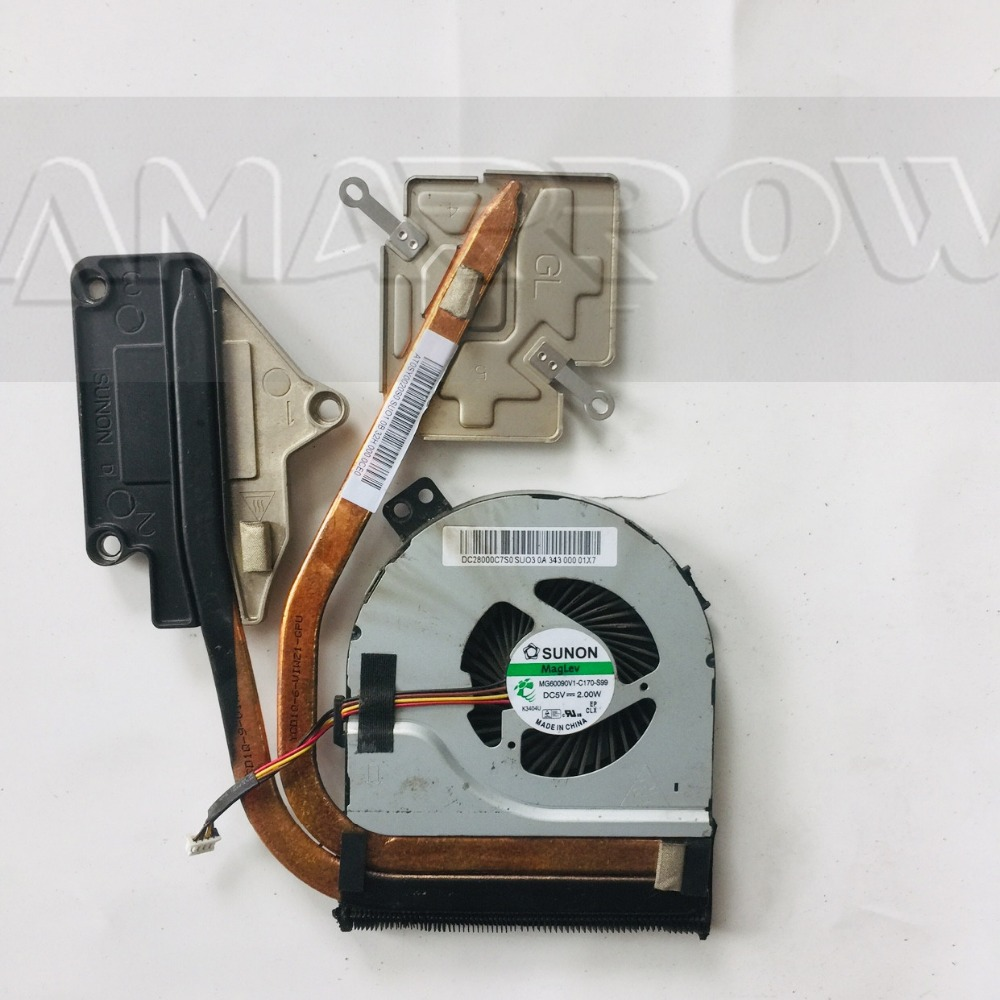 Original Free Shipping CPU Cooling Fan Heatsink For Lenovo Z400 Z500 AT0SY0020S0 DC28000C7S0