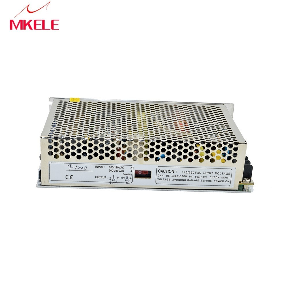 customized model triple output type T-120D 5V/12V24V SMPS supply 8A2.5A2A dc constant power