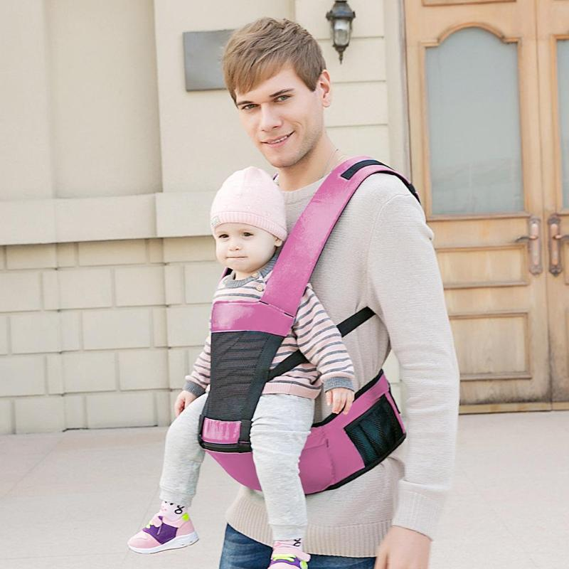Baby Lab Multifunctional Newborn Kangaroos Hipseat Baby Carrier Infant Prevent O-Type Legs Ergonomic Sling Backpacks