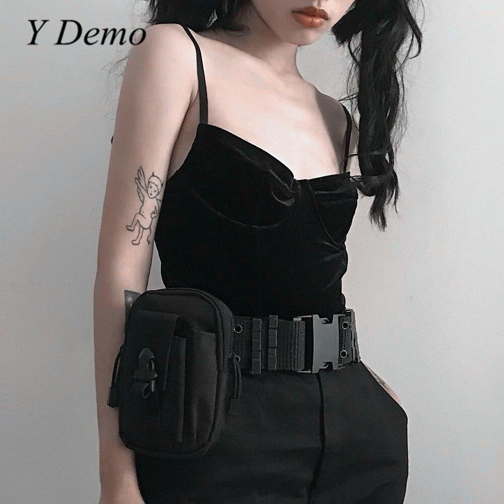 Harajuku Style Fashion Girl Pocket   Belt   Cool Adjustable Waist   Belt